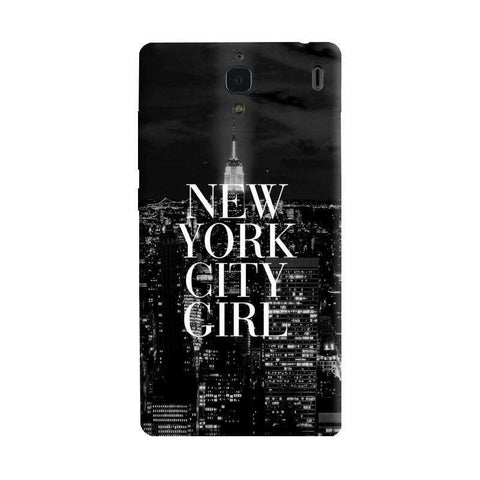 New York City Girl Xiaomi Redmi 1S Case