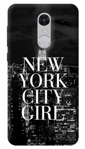 New York City Girl Xiaomi Redmi Note 4 Case