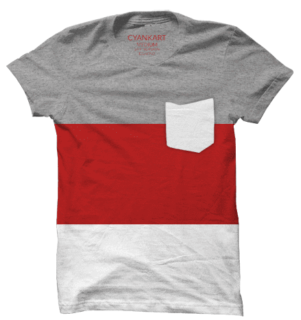 New York Red Panel T-Shirt