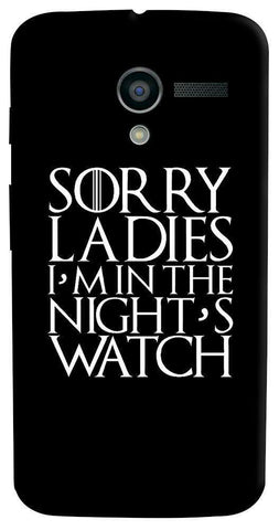 Nights Watch   Motorola Moto X Case