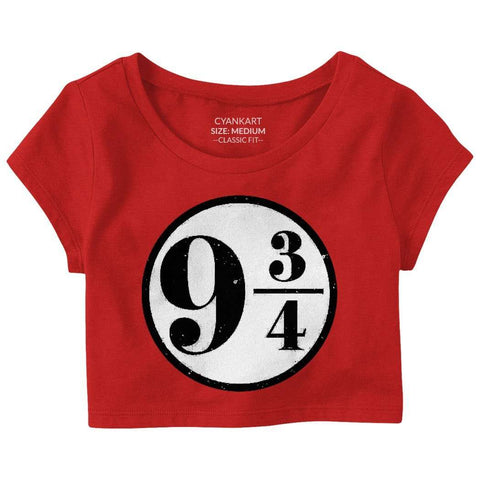 Nine and Three Quarters Crop Top