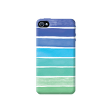 Ocean Blue Apple iPhone 4/4S Case