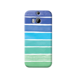 Ocean Blue HTC One M8 Case