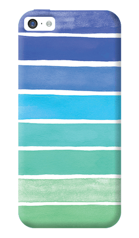 Ocean Blue iPhone 5C Case
