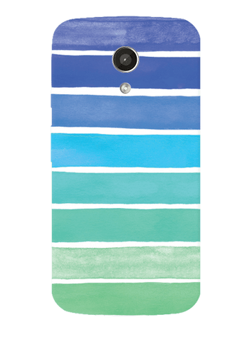 Ocean Blue Motorola Moto G 2nd Gen Case