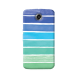Ocean Blue Nexus 6 Case