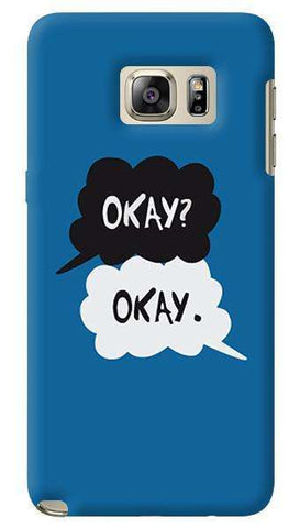 Okay  Samsung Galaxy Note 5 Case