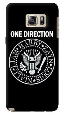 One Direction Infection   Samsung Galaxy Note 5 Case