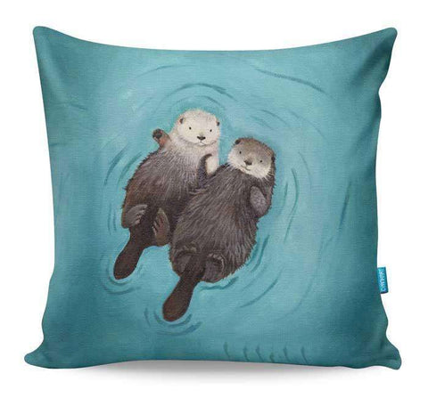 Otterly Romantic Cushion Cover