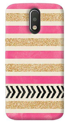 Pink & Gold Motorola Moto G4/ G4 Plus Case