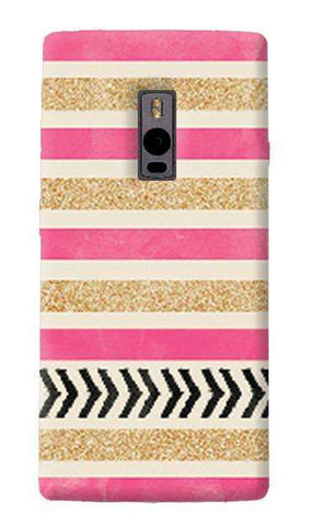 Pink & Gold OnePlus Two Case