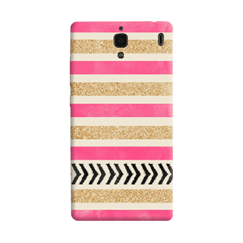 Pink & Gold Redmi 1S Case
