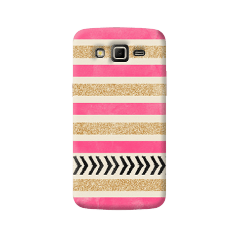 Pink & Gold Samsung Galaxy Grand 2 Case
