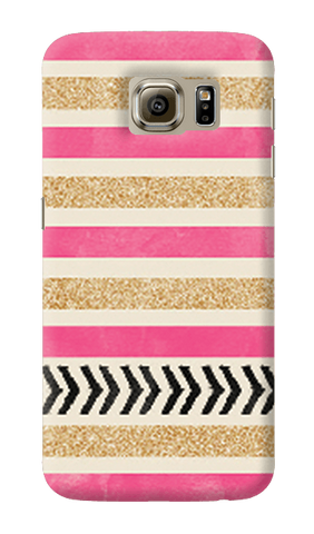 Pink & Gold Samsung Galaxy S6 Case