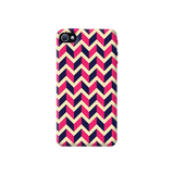 Pink & Purple Apple iPhone 4/4S Case