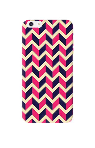 Pink & Purple Apple iPhone 6 Plus Case