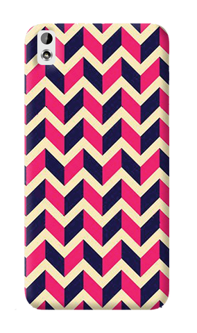 Pink & Purple HTC Desire 816 Case