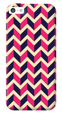 Pink & Purple iPhone 5C Case