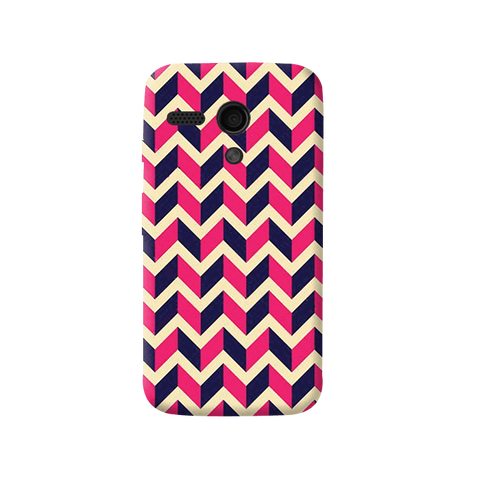 Pink & Purple Moto G Case