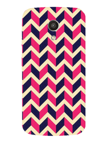 Pink & Purple Motorola Moto G 2nd Gen Case