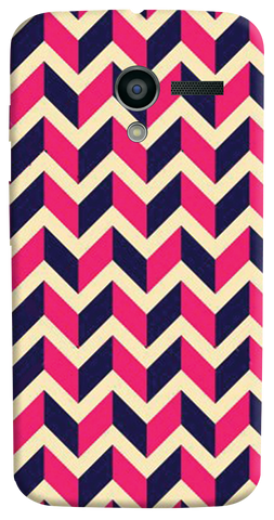 Pink & Purple Motorola Moto X Case