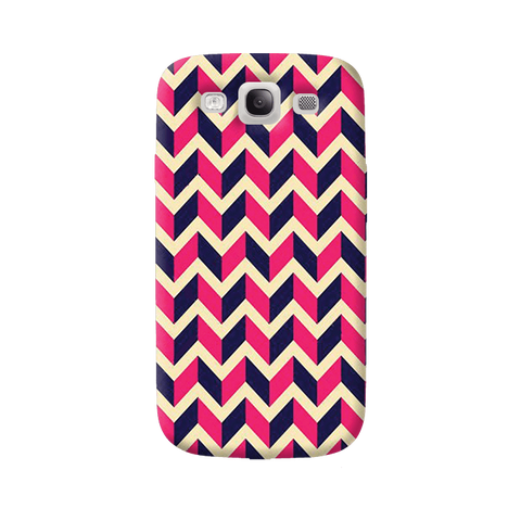 Pink & Purple Samsung Galaxy S3 Case