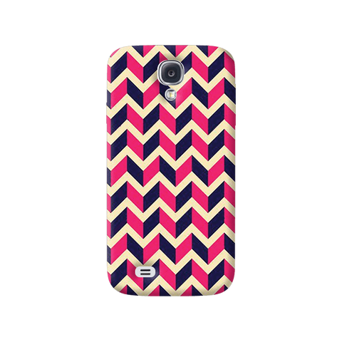 Pink & Purple Samsung Galaxy S4 Case