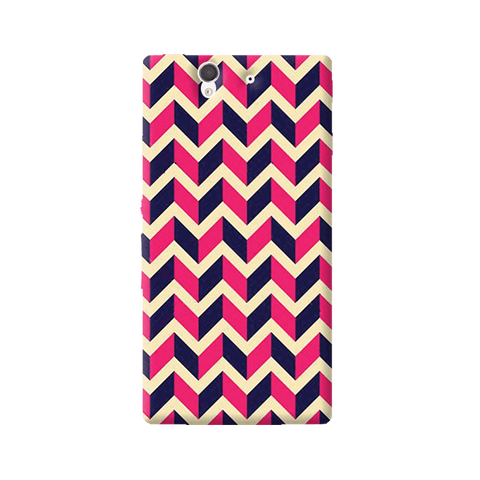 Pink & Purple Sony Xperia Z Case