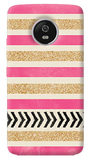 Pink and Gold Motorola Moto G5 Plus Case