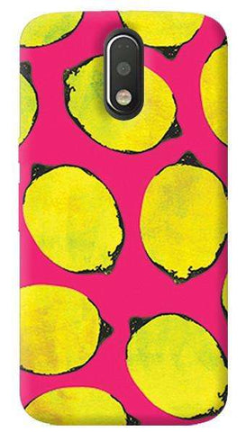 Pink Lemon Motorola Moto G4/ G4 Plus Case