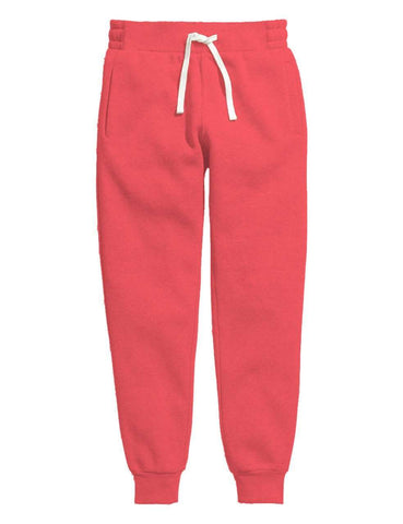 Pink Melange Women's Sweatpants