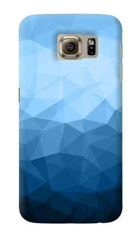 Polygon Blues  Samsung Galaxy S6 Case