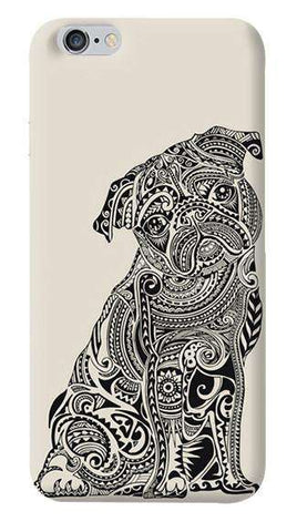 Polynesian Pug Apple iPhone 6/6S Case