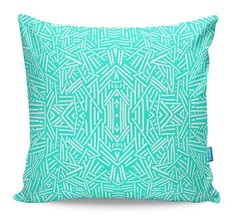 Radiate Mint Cushion Cover