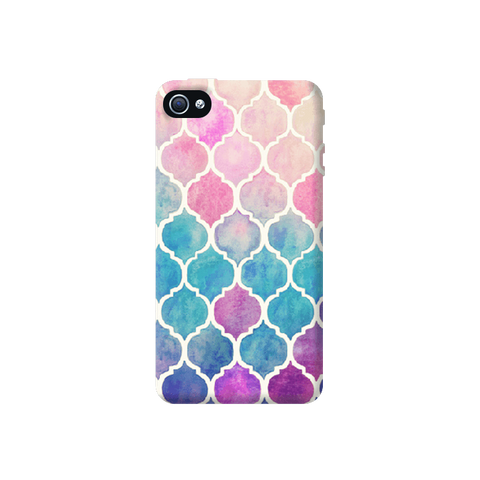Rainbow Pastel Apple iPhone 4/4S Case