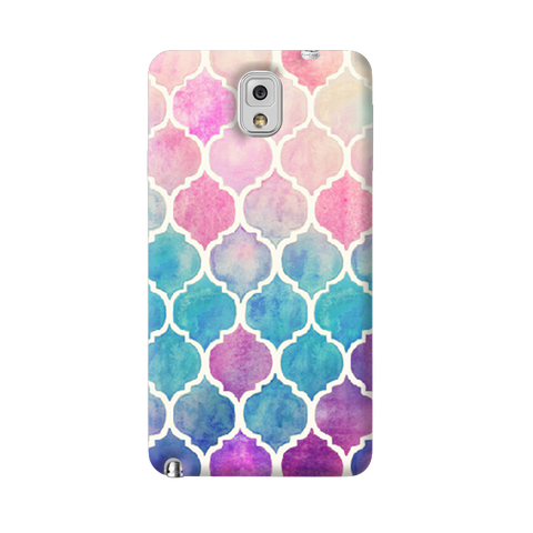 Rainbow Pastel Samsung Galaxy Note 3 Case