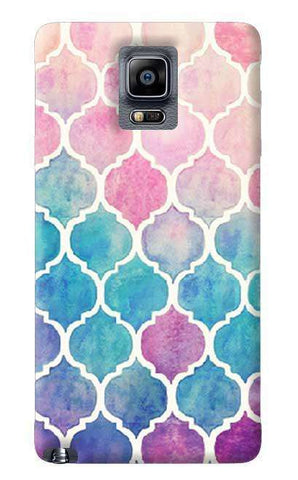 Rainbow Pastel Samsung Galaxy Note 4 Case