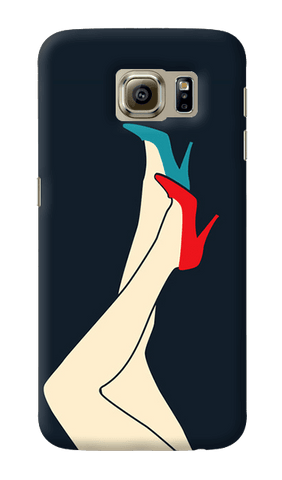 Red & Blue Samsung Galaxy S6 Case