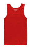 Red Basic Tank Top