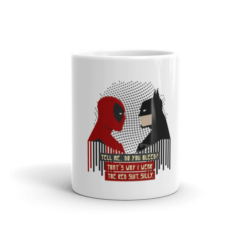 Red Suit Coffee Mug