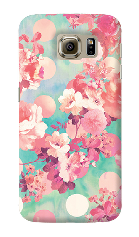 Retro Floral Samsung Galaxy S6 Case