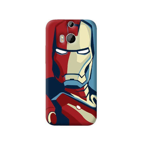 Retro Ironman HTC One M8 Case