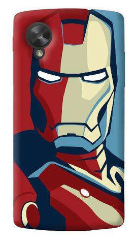 Retro Ironman LG Nexus 5 Case