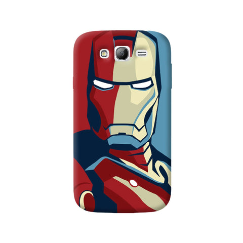 Retro Ironman Samsung Galaxy Grand Case