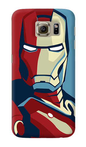 Retro Ironman Samsung Galaxy S6 Case