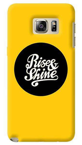 Rise & Shine  Samsung Galaxy Note 5 Case