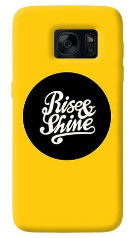 Rise & Shine  Samsung Galaxy S7 Edge Case