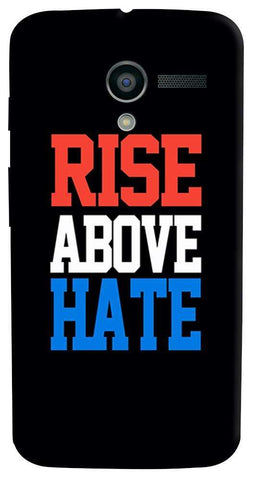 Rise Above Hate   Motorola Moto X Case