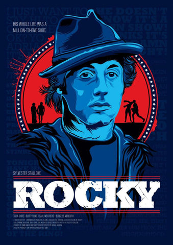 Rocky Blues Poster