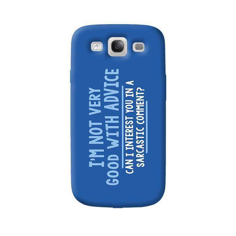 Sarcastic Comment   Samsung Galaxy S3 Case